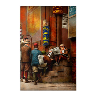 Children - Morning Meeting 1910 Acrylic Wall Art