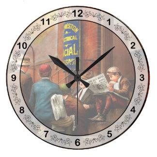 Children - Morning Meeting 1910 Large Clock