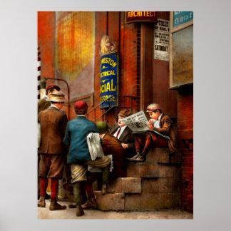 Children - Morning Meeting 1910 Poster