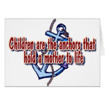 children mothers anchor to life cards