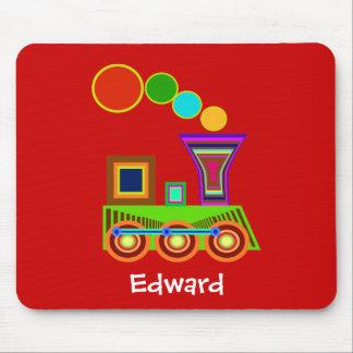 Children Mousepad: Train Mouse Pad