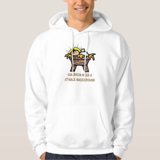 children need stable background hoodie