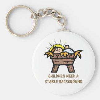 children need stable background keychain