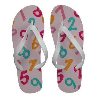 Children Numbers Sandals