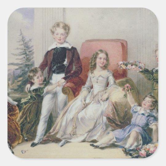Children of Elhanan Bicknell Square Sticker