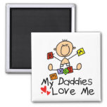 Children Of Gay Parents 2 Inch Square Magnet