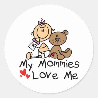 Children Of Gay Parents Classic Round Sticker