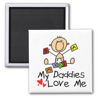 Children Of Gay Parents Fridge Magnets