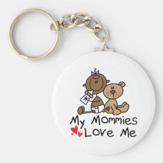 Children Of Gay Parents Basic Round Button Keychain