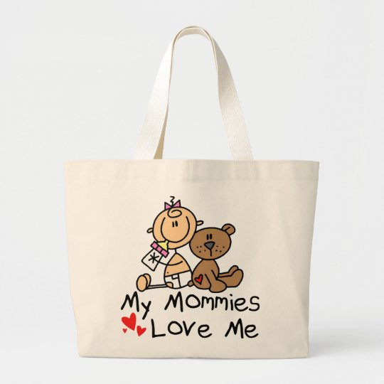 Children Of Gay Parents Large Tote Bag