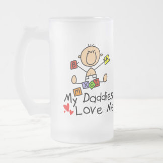 Children Of Gay Parents 16 Oz Frosted Glass Beer Mug