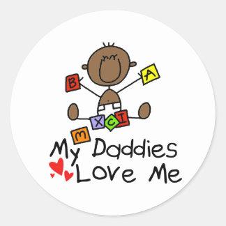 Children Of Gay Parents Round Sticker
