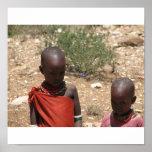 Children Of Samburu Print