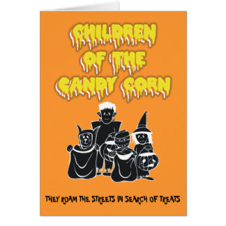 Children of the Candy Corn Greeting Card