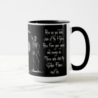 'Children of the Hydra' Skeleton Mugs