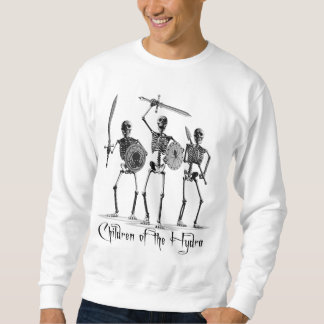 'Children of the Hydra' Skeletons Pullover Sweatshirt