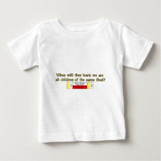 Children of the Same God 1 Baby T-Shirt