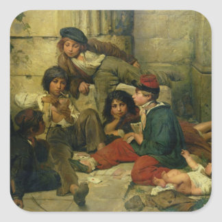 Children of the Streets of Paris, 1852 Sticker
