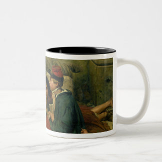 Children of the Streets of Paris, 1852 Two-Tone Coffee Mug