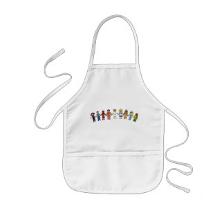 Children of the World Aprons