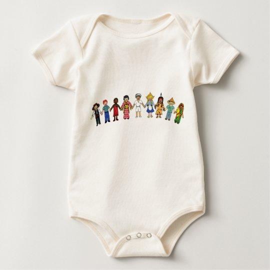 Children of the World Baby Bodysuit