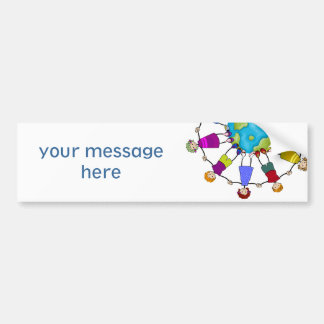 Children of the World Car Bumper Sticker