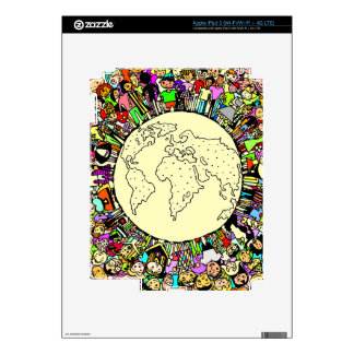 Children of the World Decal For iPad 3