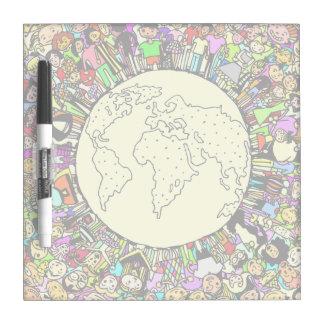 Children of the World Dry Erase Board