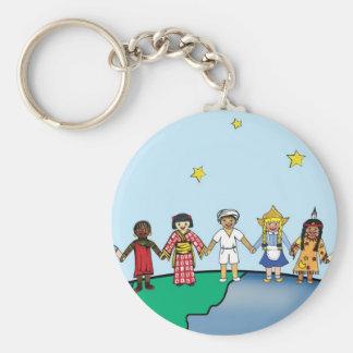 Children of the World Keychain