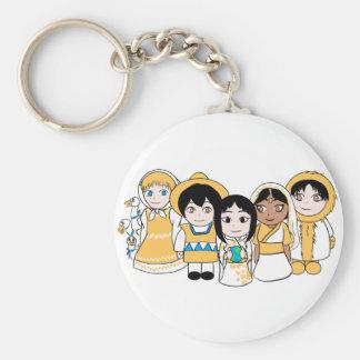 Children of the World Keychains