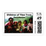 Children of Tibet Trust Foundation Stamp