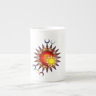 Children of Y'Dahnndrya Suns & Moon Symbol Mug
