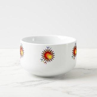 Children of Y'Dahnndrya Suns & Moons Soup Bowl