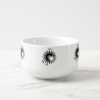 Children of Y'Dahnndrya Suns & Moons Soup Bowl2 Soup Mug