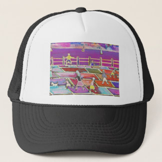 CHILDREN ON A PROMENADE TRUCKER HAT