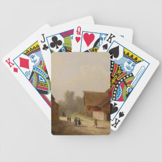 Children on the Way Home - Kinder am Heimweg Bicycle Playing Cards