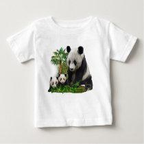 Children' Panda Bear toddler Baby T-Shirt
