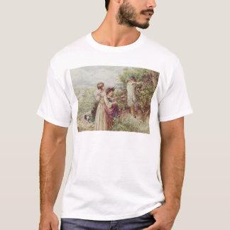 Children picking blackberries, 19th century T-Shirt