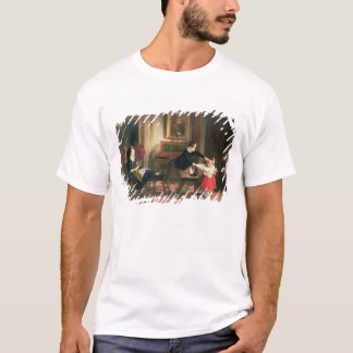 Children playing at coach and horses T-Shirt