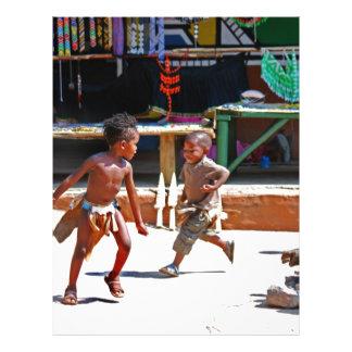 Children Playing Flyer