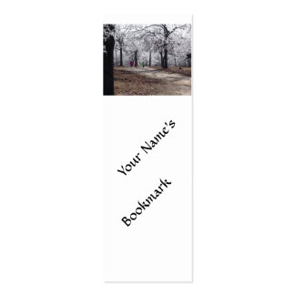 Children Playing in Winter Business Cards