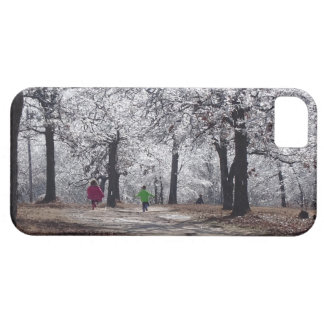 Children Playing in Winter iPhone 5 Cover