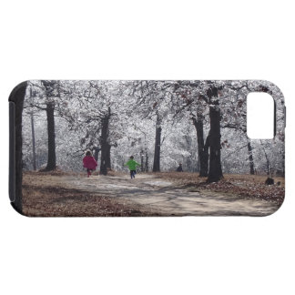 Children Playing in Winter iPhone 5 Covers