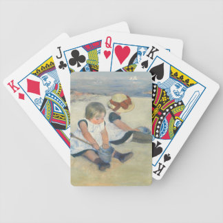 Children Playing on the Beach, 1884 Bicycle Playing Cards