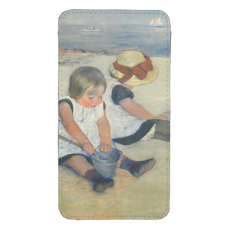 Children Playing on the Beach, 1884 Galaxy S4 Pouch