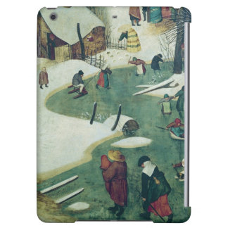 Children Playing on the Frozen River iPad Air Cases