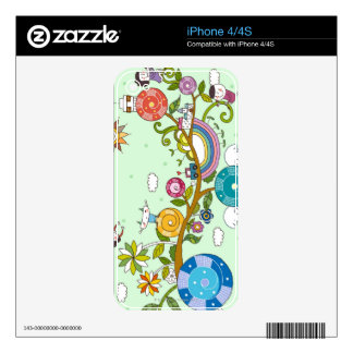 Children Playing Skins For The iPhone 4