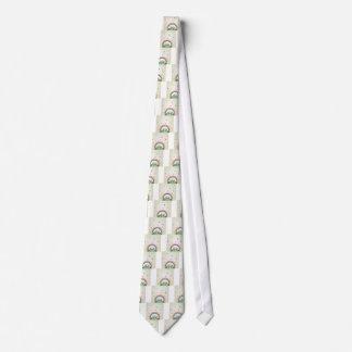 Children rainbow neck tie