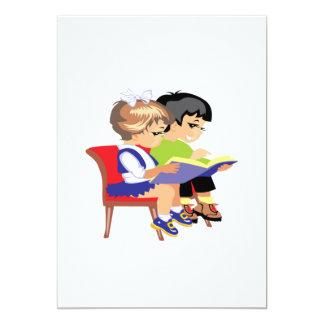 Children Reading 2 Card