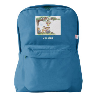 children reading books american apparel™ backpack